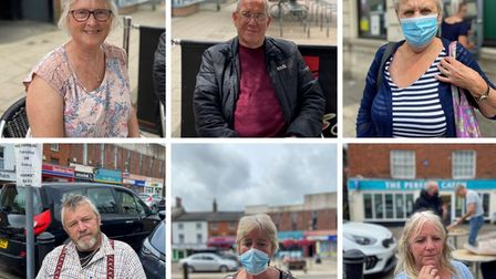 We asked people in Dereham if they'llkeep wearing a face mask when restrictions are eased