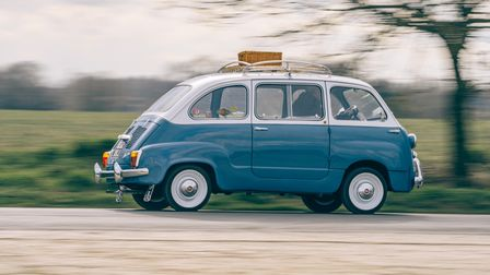 The rare Fiat 600 will be on show at theBury Abbey Rotary Club car show at Culford later this month