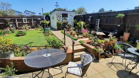A new garden in Roman Way, Felixstowe, is among those which will be opening in aid of the Blossom Appeal