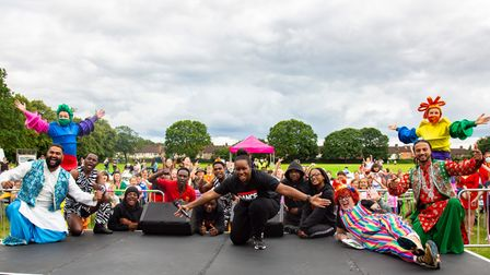 Barking and Dagenham's Thank you Roadshow on Sunday at Valence Park.Picture by Ellie Hoskins