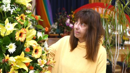 Trinity Methodist Church in Wisbech special flower show as part of national 'thank you' day