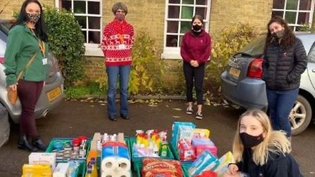 Nando's Ely donates items to city foodbank during Covid-19 pandemic
