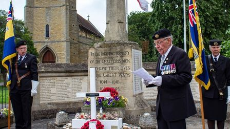 Chatteris Royal British Legion branch marks centenary with ceremony