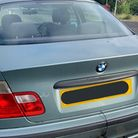 Police threw the book at the driver of this BMW stopped in Cambridgeshire today