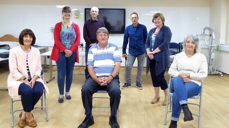 The Friends of North Walsham War Memorial Hospital committee.