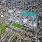 The site of a proposed industrial, warehousing and trade counter development in Dagenham.