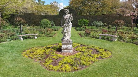 The gardens at Helmingham Hall will be opening in aid of the Blossom Appeal