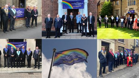 Cambridgeshire Freemasons celebrate the NHS in Social Care and Frontline Workers' Day