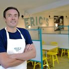 Eric Snaith inside Eric's Fish and Chips in Thornham which has been reviewed by Giles Coren Picture: