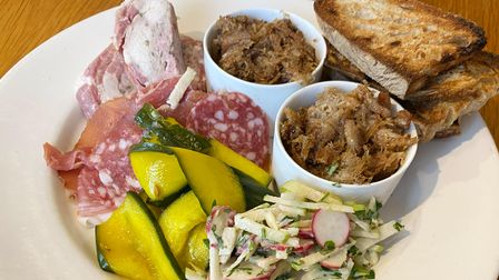 The Thorn'scharcuterie sharing plate