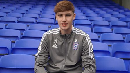 Matt Healy has signed a professional contract with Ipswich Town