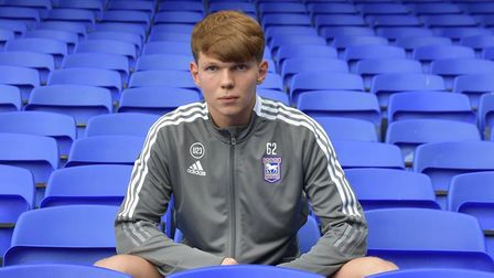 Cameron Stewart has signed a professional contract with Ipswich Town