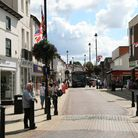 Stowmarket town centre Picture: MARK LANGFORD