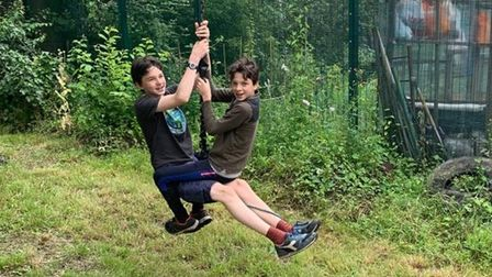Swinging time as Glamis adventure playground reopens