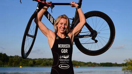 Triathlete Kimberley Morrison will be one of the special guests at the Norfolk Sports Awards next mo