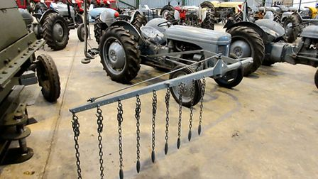 Norfolk farmer Paul Rackham is selling what's considered to be the most complete group of vintage Fe