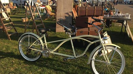A bike is one of the unusual items which has featured at a previousNorfolk Antique and Collectors Fair.