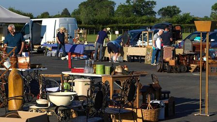 Mid Suffolk Mondays is a new antique and vintage fair at Stonham Barns Park