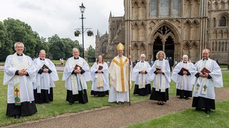 Ordination of Ely Priests on July 3 atEly Cathedral