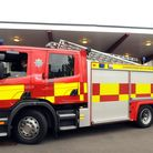 Firefighters spentover an hour tackling a a blazing car that had been deliberately set alight in Abbots Way, Ely.