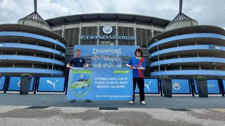 Lee Cracknell and his friend Luke travelled to all 20 Premier League football clubs in 24 hours