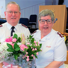 Chatteris Salvation Army leaders Richard and Pauline Cook have retired for the third time.