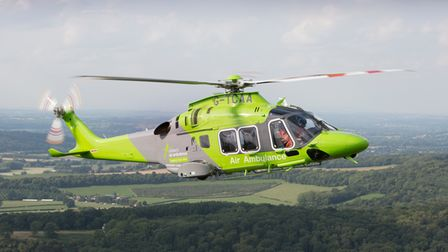 The Children's Air Ambulance had launched a summer fundraising campaign on July 7.