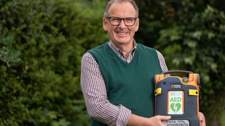Andy Read, who suffered a cardiac arrest back in 2018 is campaigning for more defibs in Sudbury and