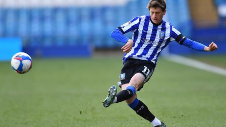Sheffield Wednesday's Adam Reach in action during the Sky Bet Championship match at Hillsborough Sta