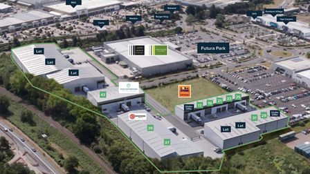 Crane Park's new tenants which include Howdens Joinery