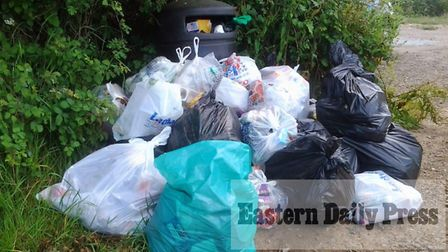 Fly-tipping in Norfolk
