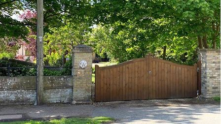 These gates were stolen from a home in Haddenham last night (July 7) during the Euro 2020 England vs Denmark match.