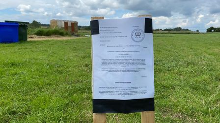 The High Court injunction issued to Norfolk Camping CIC.
