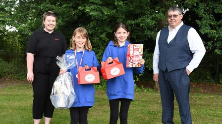 Maisie came 1st place with her loaf and Lizzie in 2nd. Year 5 and 6s at Stoke By Nayland Primary sch