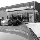 Robinsons' new Volkswagen Audi dealership, near the North Walsham bypass, 1992