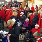 Approximately 2000-2500 turned up to Harleston's Christmas market. The event was a huge hit among lo