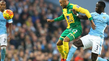 Norwich City midfielder Nathan Redmond is in line for his 26th England Under-21 cap. Picture by Paul