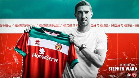 Former Ipswich Town defender Stephen Ward has joined Walsall