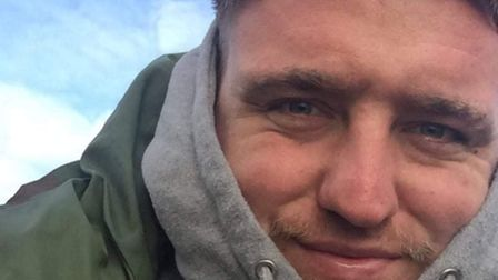 Connor Ruffles, 26, died after a crash inEarl Stonham.