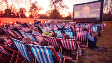 Open-air cinema is coming to Helmingham Hall this summer
