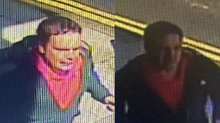 Essex Police CCTVimage of a man they want to identify in connection with an assault in Clacton