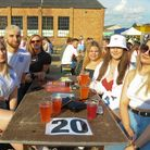 Fans at The Arena in Sprowston ready for the England v Italy Euros final match. Picture: Danielle Bo