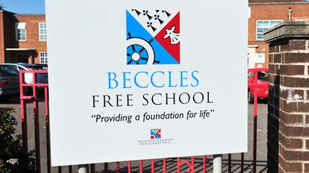 The Beccles Free School received an official warning from the regional schools commissioner.
