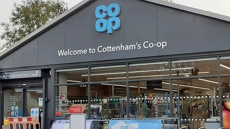 Police are looking for three suspects after a burglary at the Co-op store in Cottenham