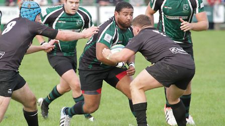 With Matt Oakes unavailable Tim Weber, pictured, and Tom Browes will provide cover at prop and hooke