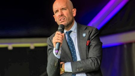 Tom Allen stormed the main stage at the 2021 Cambridge Comedy Festival.