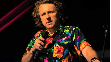 Milton Jones' quirky one-liners were a huge hit onFriday night at the 2021 Cambridge Comedy Festival.