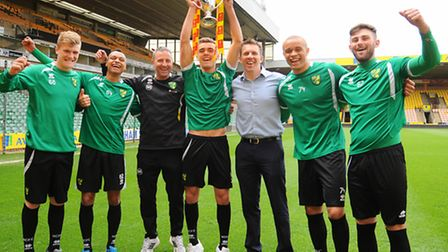 Neil Adams' guided Norwich City to a first FA Youth Cup win in 30 years in 2013. Picture: Denise Bra