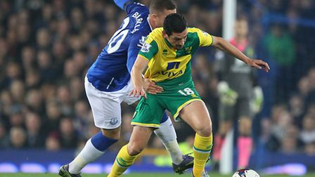 Norwich City midfielder Graham Dorrans is being linked with QPR and Burnley. Picture by Paul Chester