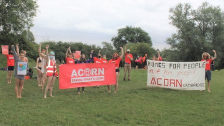 ACORN say they want the college and local authorities to ensure possible restrictions on river swimming there are abandoned.